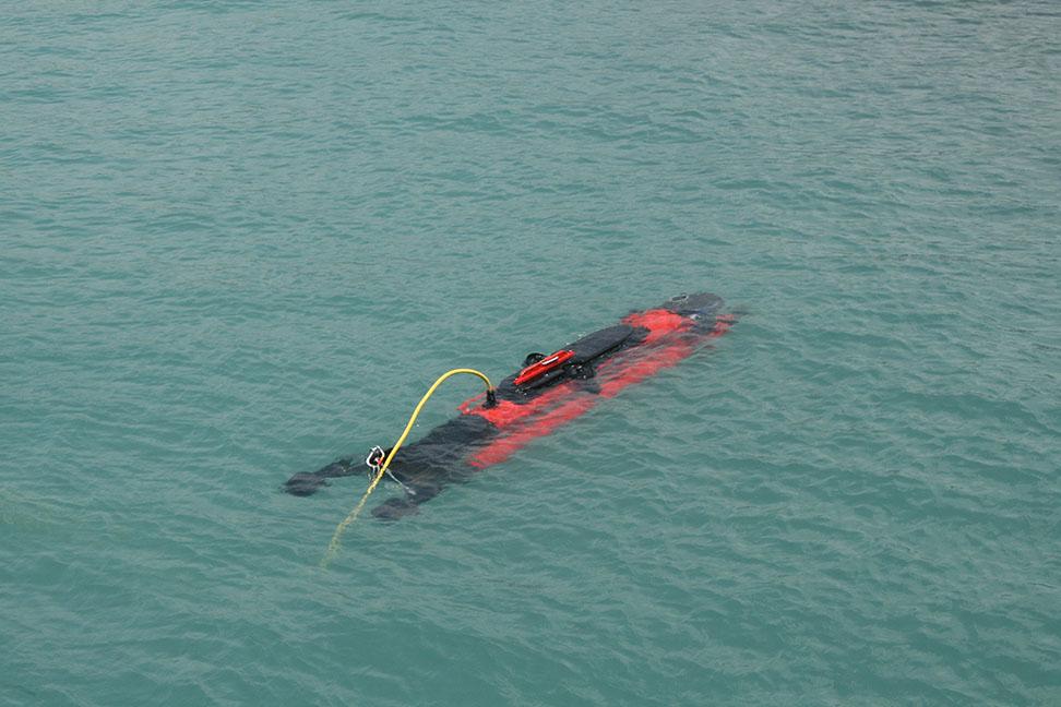 Robo Marine Indonesia Underwater Remotely Operated